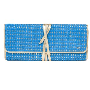 Clutch Layla LG 091 Blue & Gold
