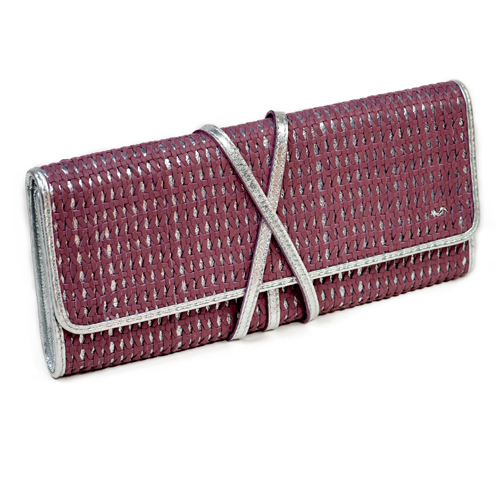 Clutch Layla LG 092 Old Pink & Silver