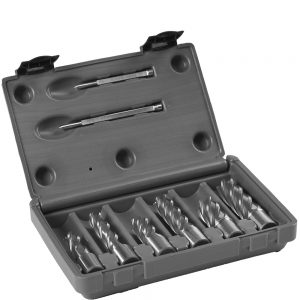 Euroboor HSS 6 piece cutter set -1?/2?