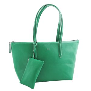 Ladies Zip Tote Bag LG294 Green