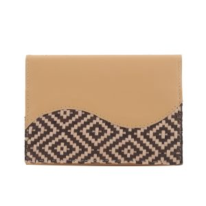 Notebook With Woven Leather LG 253 Mix