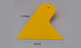 Hard Plastic Squeegee